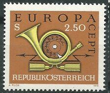 AUSTRIA EUROPA cept 1973 Sin Fijasellos MNH