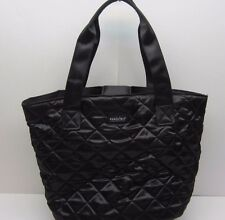 Pandora Jewelry Black Quilted Tote Bag Purse Promotional Excellent Used Cond