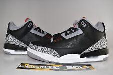 "low priced f8bd2 d65ac Nike Air Jordan 3 Retro ""Black Cement"" 2018 Style   854262-001 Size"