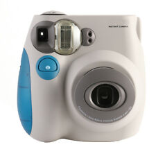 Blue Colour FujiFilm Fuji Instax Mini 7S Instant Photos Films Polaroid Camera