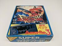 PC Engine Super CDrom2 - Forgotten Worlds Sp. Pack w/ Controller  - Japan Import