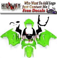 Fairings For Kawasaki Ninja250 08-12 EX250R Injection Fairing Kit Bodywork Green