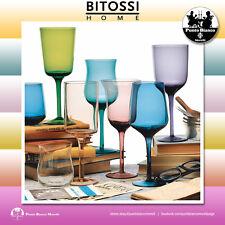 BITOSSI HOME. DISEGUALE Set 6 calici | One set of 6 stem glass