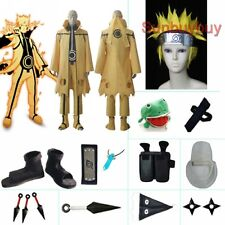 Naruto Uzumaki Naruto Nine-Tails Bijuu Mode costume set with wig