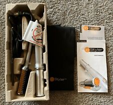 """InStyler Rapid Heat Up Professional Rotating Styling Iron 1"""" Curl Straighten"""