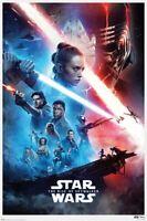Star Wars Episode 9 - Der Aufstieg Skywalkers - (Saga) Poster Mehrfarbig