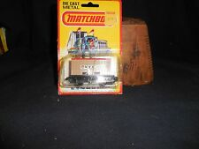 Matchbox No 25 Flat Bed Car W/Container 1980 MOC