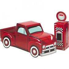 Vintage Red Truck 3-D Centerpiece Set Truck 11.25