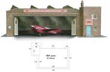 Super Quick SQB34 Model Railway Kits OO HO Gauge Scale - Bus Depot