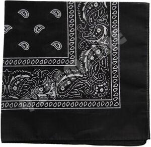 Lot  3/6/12 Pack Paisley Print Bandana 100% Cotton Head Warp Scarf