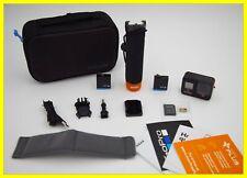GoPro HERO 8 Black 4K Action Camera Bundle - 2 BATTERY, Handler, Case, & SD Card
