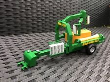 Scratchbuilt McHale 998 Square Bale Wrapper 1:32 scale