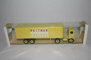 1960's Winross Whitman Freight Co Semi Truck with Box, Nice Original