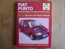 FIAT PUNTO  HAYNES  SERVICE AND REPAIR WORKSHOPMANUAL  1994-1999. 3251