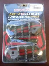 SUNLINE SL-1 ARCH STAINLESS FOOTPEGS - CHECK DESCRIPTION FOR FITMENT - 27-00-015