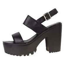 "High 3"" and Up Women's Block Sandals & Flip Flops"