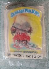 """1986 vintage Garbage Pail Kid  Imperial toy  button """"HOT STUFF"""" sealed"""