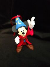 Disney Mickey Mouse 90th Anniversary Fantasia Wizard Mickey Christmas Ornament
