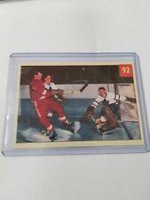 2001-02 Parkhurst In The Game Reprints Set CARD 58 - GORDIE HOWE / HARRY LUMLEY