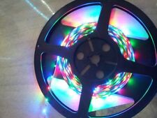 NEW 24 volt 5M 2835 SMD 300 Leds Multi RGB LED Strip Light Waterproof Flexible