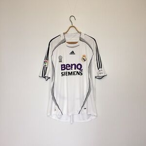 Real Madrid 2006 2007 Home Jersey Size XL