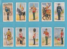 MILITARY - GODFREY PHILLIPS - SET OF 36 SOLDIERS OF THE KING CARDS  -  1939