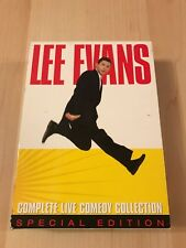 Lee Evans Complete Live Comedy Collection DVD Special Edition.