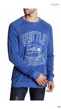 NWT Seattle Seahawks  Men's Long Sleeve Sweatshirt Authentic By Junkfood XXL $70