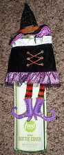 New - party - Witch - halloween - Food Network - wine - Bottle Cover