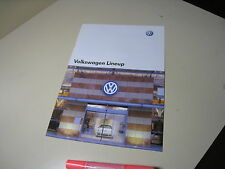 VolksWagen VW LineUp Japanese Brochure 2005/10 GOLF BORA TOUAREG Passat Beetle