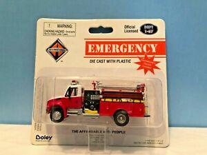 Boley #4124-17 Red Fire Truck (Retired Authentic Boley)