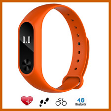 Smart Wach Fitness Braccialetto Cardiaca ANDROID IOS Bluetooth Sport Arancione