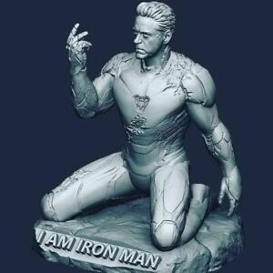 Archivos Stl para impresora 3D - IRON MAN snap