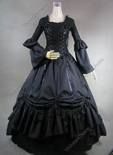 Renaissance Medieval Game Of Thrones Witch Dress Ghost Halloween Costume 112 XXL