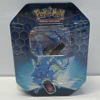 Pokemon TCG Gyarados GX Hidden Fates Tin, Brand New Factory Sealed!!