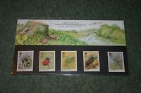 Royal Mail Presentation Pack 160 'Insects' 1985 MNH
