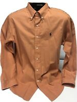 MEN'S  RALPH LAUREN CLASSIC FIT LONG SLEEVE SHIRT SIZE - LARGE