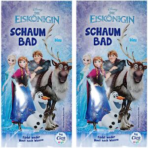 2 X Disney La Regina Bagno Schiuma Bagno Blu Con Fruttato Fragranza