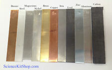 Metal Electrodes Set of 11 (See picture and description for list of electrodes)