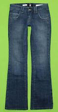 Heatherette sz 27 x 33 Womens Blue Jeans Denim Pants Stretch EK44