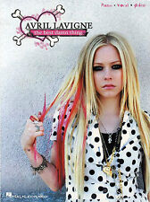 AVRIL LAVIGNE BEST DAMN THING PIANO VOCAL GUITAR