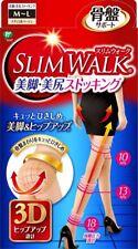SLIM WALK Legs Nice ass stockings M~L size beige Japan
