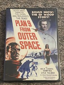 Plan 9 From Outer Space / The Ed Wood Story (DVD, 1957 Bela Lugosi Film) NEW
