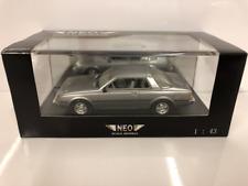 Mitsubishi Sapporo Coupe Mk1 Metallic Silver 1:43 Scale Neo 43440