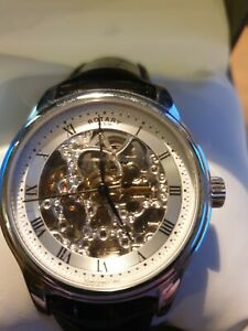 Rotary Men's GS02519/09 Automatic Skeleton Watch - 100m