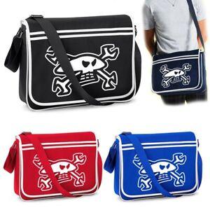Guy Martin - Skull and Spanners - Shoulder Bag - Bagbase BG71