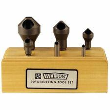 "Weldon 98822-00-W .307/""-25//32/"" x 1//4/"" 82° #1 HSS Countersink /& Deburring Tool"