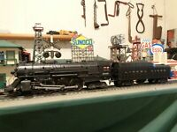Lionel Postwar 2046 Hudson 4-6-4 ,1951 & 53 & 2046W tender C-7 serviced ! !