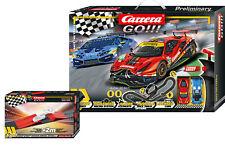 "Carrera Go! 20062526 ""Race the Track"" Sonderedition 6,2m + 2m Bonus NEU und OVP"