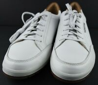 Mephisto Men's Ludo White Leather Walking Sneakers Shoes MSRP $180 Size 10 D